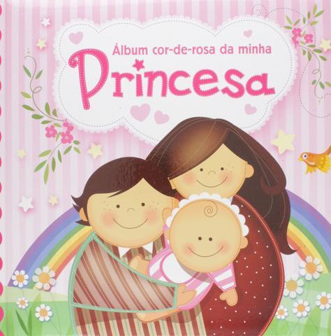 Imagem de Álbum Cor-de-Rosa da Minha Princesa