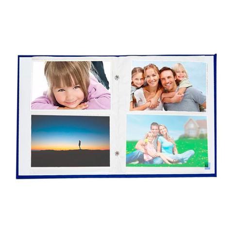 Imagem de Album Cores Rebites 200 Fotos 10x15 Ical Azul