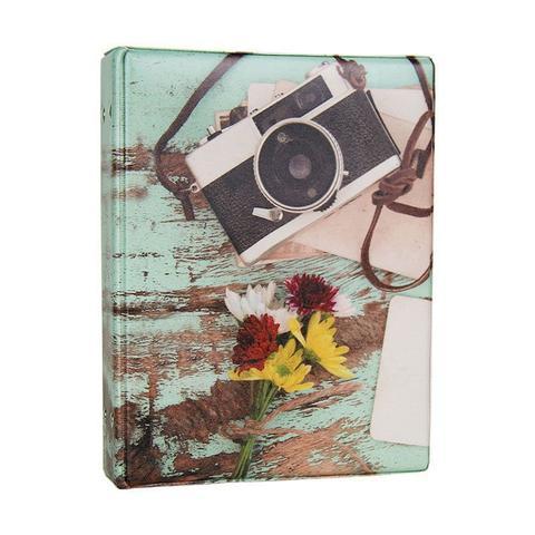 Imagem de Álbum de 500 fotos 10x15 Aquarela Câmera - 151577