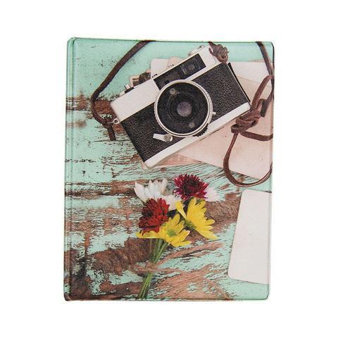 Imagem de Álbum de 500 fotos 10x15 Aquarela Câmera c/ ADESIVOS