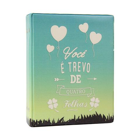 Imagem de Álbum de 500 fotos 10x15 Trevo c/ ADESIVOS