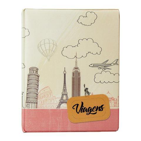 Imagem de Álbum de 500 fotos 10x15 Viagens c/ ADESIVOS - 10032 - 167922