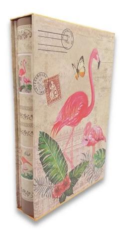 Imagem de Álbum De Fotografias 300 Fotos Capa Dura Flamingo 10x15