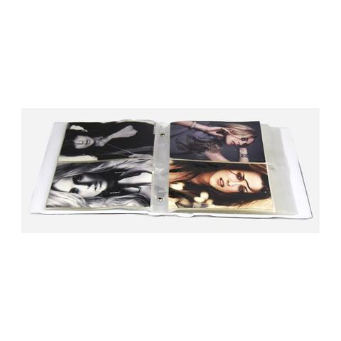 Imagem de Álbum de Fotos 10x15 Aquarela Círculos 500 Fotos c/ Estojo