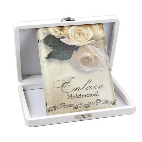 Imagem de Álbum de Fotos 15x21 Casamento Matrimonial 40 Fotos  c/ Estojo - 94835