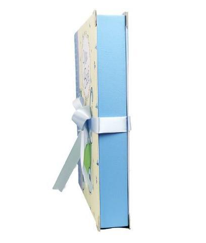 Imagem de Album de Fotos Azul Com Diário do Bebê - 15x21 e 20x25 - 74912