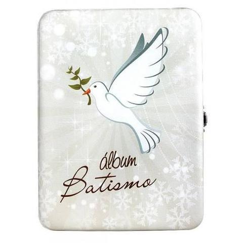 Imagem de Album de Fotos Batismo para 40 Fotos 15x21 com Estojo - 74847 / 98502