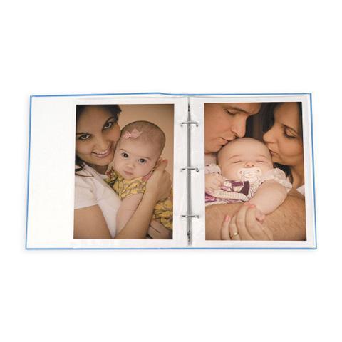 Imagem de Álbum de Fotos Bebê 60 Fotos 15x21 Com Diário 08