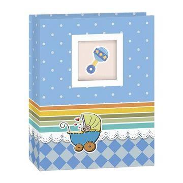 Imagem de Álbum de Fotos Bebê Azul p/ 200 Fotos ( 10x15 ) Yes