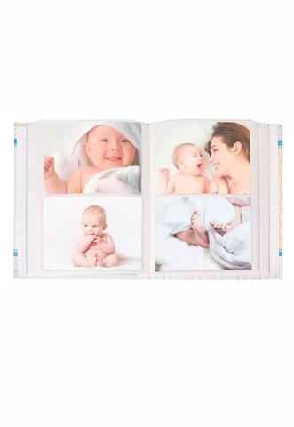 Imagem de Album De Fotos Bebe menino 100 Fotos 15x21 Com Diario AIB15181
