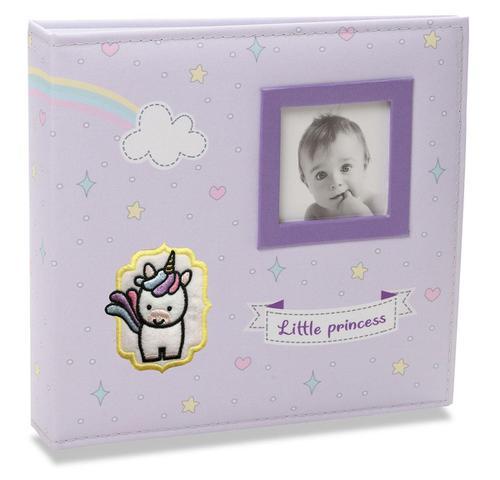 Imagem de Álbum de Fotos Bebê Tecido 200 Fotos 10x15 814