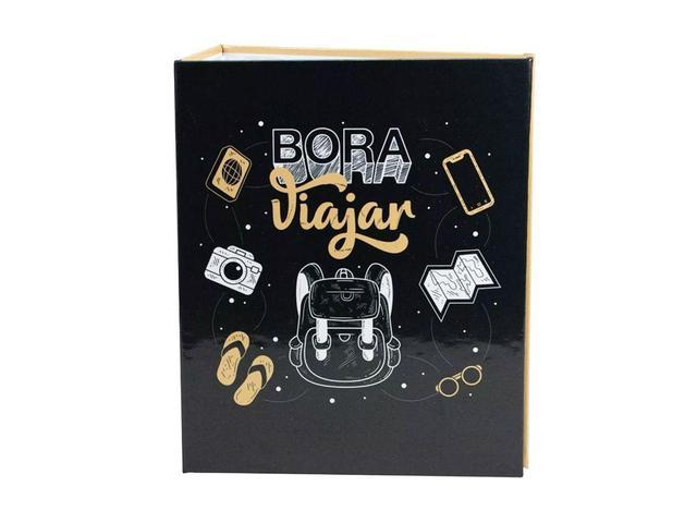 Imagem de Álbum De Fotos Bora Viajar Mochileiro 500 Fotos 10x15 - Bv Albuns