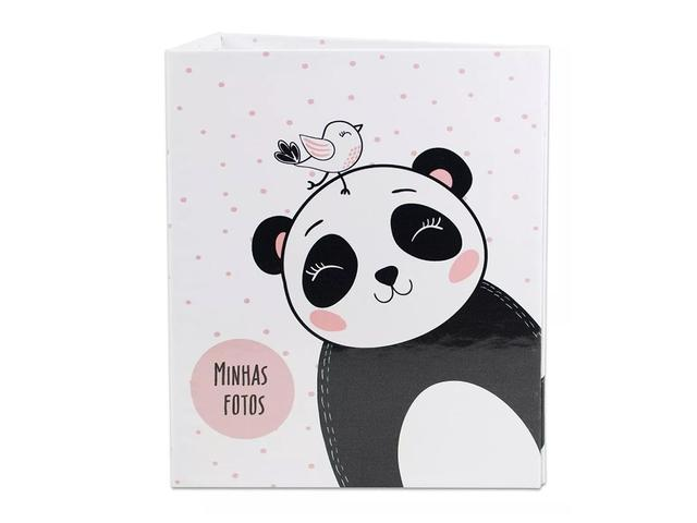 Imagem de Álbum De Fotos Estampado Panda Para 500 Fotos 10x15