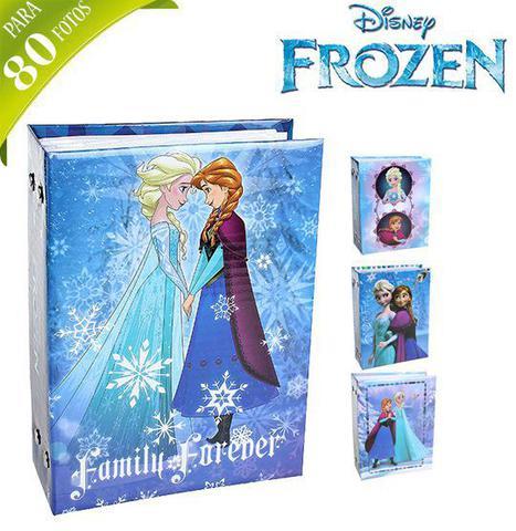 Imagem de Álbum de fotos infantil para 80 fotos 10x15 cm frozen