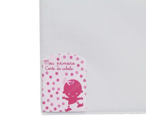 Imagem de Album de Fotos Meu Bebê Rosa com Diário do Bebê para 40 fotos 15x21 e 20x25 - 74913