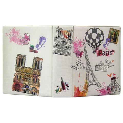 Imagem de Álbum de Fotos Paris 500 fotos 10x15 Cidades Com Brinde (Adesivos) - 10029