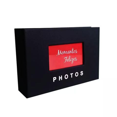 Imagem de Álbum de Fotos Yes 100 Fotos 10x15cm com Janela Preto