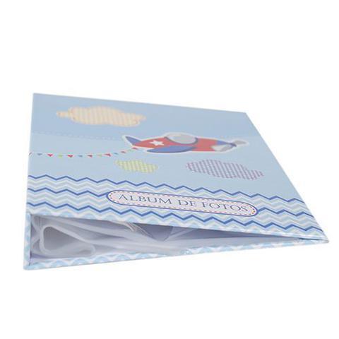 Imagem de Álbum Do Bebê - 80 Fotos 15x21- Desenho Avião Ical