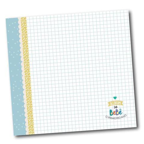 Imagem de Álbum do bebê Azul Colore