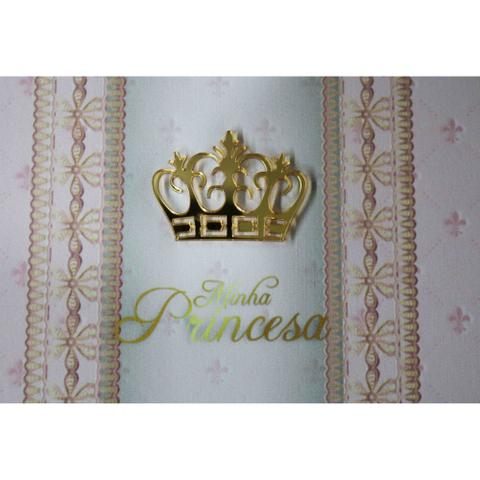 Imagem de Álbum E Porta Retrato Princesa Rosa 120 Fotos 10x15