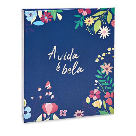 Imagem de Album Floral Ical 200 Fotos 10x15 A Vida É Bela