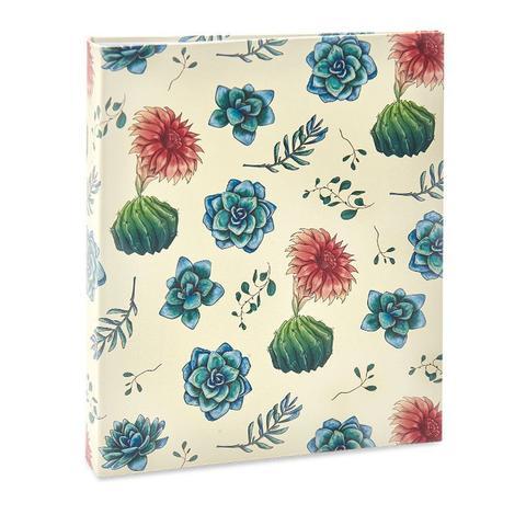 Imagem de Album Floral Ical 200 Fotos 10x15 Flor Branco/vermelho
