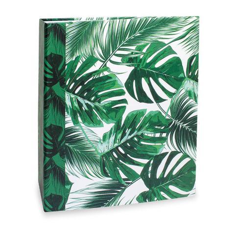 Imagem de Album Floral Ical 200 Fotos 10x15 Folhas Verdes