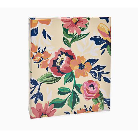 Imagem de Album Floral Ical 200 Fotos 10x15 Laranja