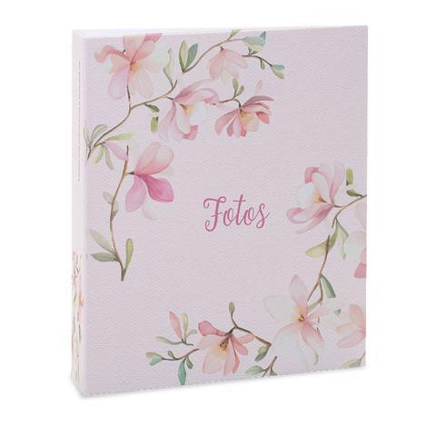 Imagem de Album Floral Ical 200 Fotos 10x15 Rosa (fotos)