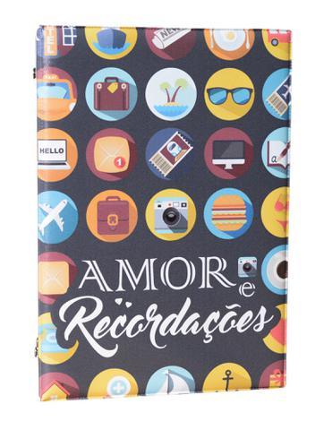 Imagem de Álbum Fotográfico Amor e Recordações Para 500 Fotos 10x15 Adulto Jovem Viagens