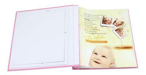 Imagem de Álbum Fotográfico Bebê 120 Fotos 10x15cm Capa Personalizável