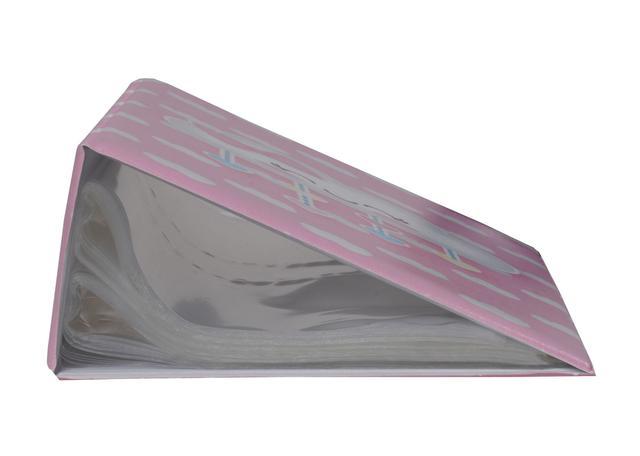 Imagem de Álbum Fotográfico Chuva de amor rosa para 500 Fotos 10x15 Nuvem Infantil Bebê
