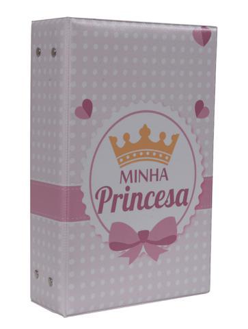 Imagem de Álbum Fotográfico Minha Princesa Para 500 Fotos 10x15 Infantil Bebê Coroa