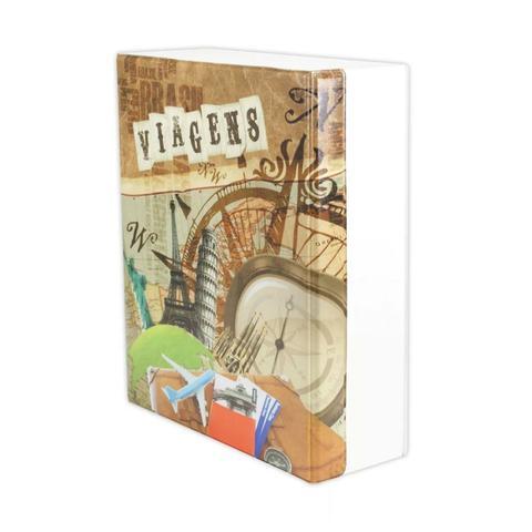 Imagem de Álbum Fotográfico Viagens Com Estojo 500 Fotos 10x15