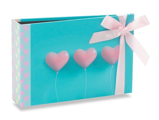 Imagem de Álbum Gift Solda Coração com Laço Rosa 60 Fotos 10X15