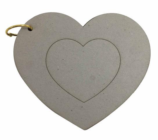 Imagem de Álbum Holler Cartonagem Coração