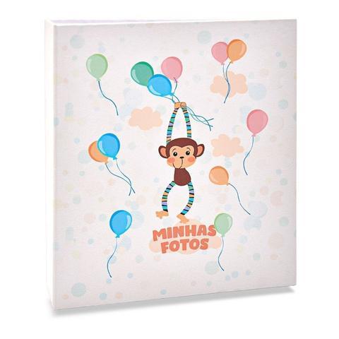 Imagem de Álbum Infantil Rebites 120 Fotos 10x15 Ical Macaco