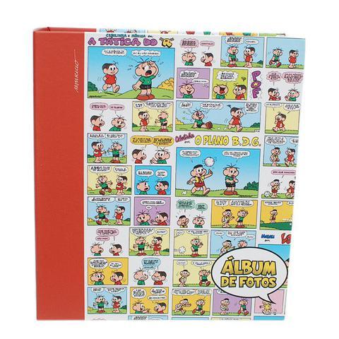Imagem de Album Infantil Turma da Monica Ferragem Folha Branca 100F 15X21 - ICAL 221