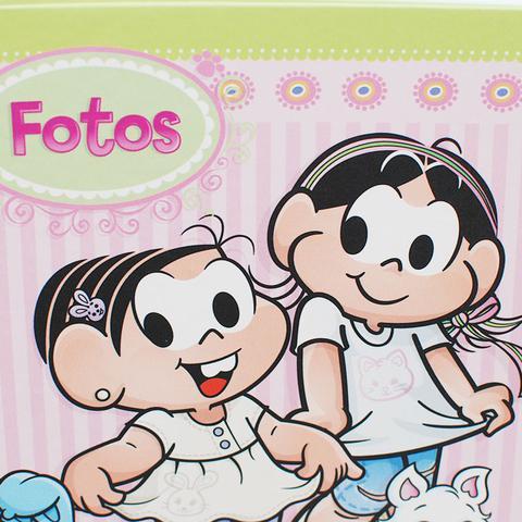 Imagem de Album Infantil Turma da Monica Ferragem Folha Branca 200F 10x15 - ICAL 214