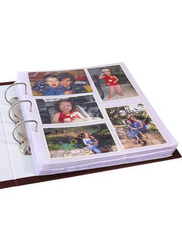 Imagem de Álbum Marrom Mega 1000 Fotos 10x15 Corino Com Ferragem