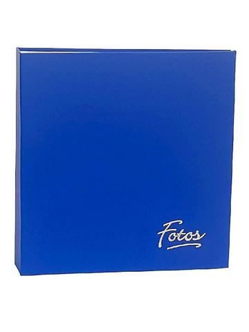 Imagem de Álbum Mega 500 Fotos 10x15 Azul + Refil Extra 100 Fotos