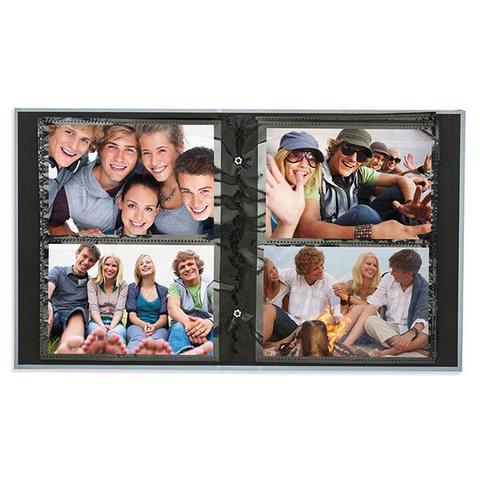 Imagem de Álbum Photo Lovers 160 fotos 10x15 F/ Preta - Ical 907