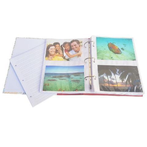 Imagem de Album Viagem Ferragem Folha Branca 300 Fotos Países
