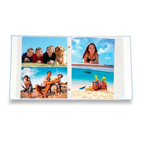 Imagem de Álbum Viagem Rebites 500 Fotos 10x15 Ical Mundo Marrom