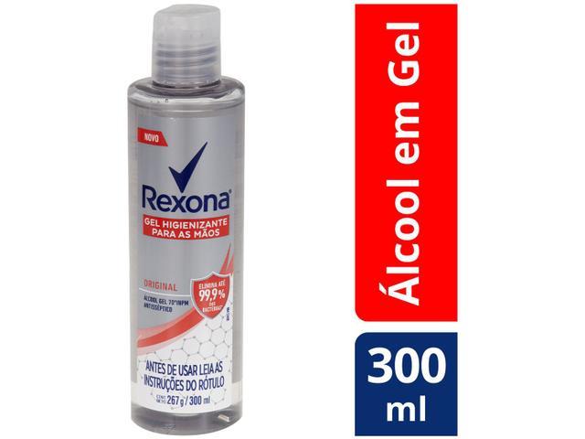 Imagem de Álcool em Gel 70% Antisséptico 300ml Rexona