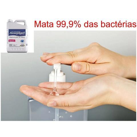 Imagem de Álcool Gel Antisseptico Para As Mãos Hidratante Start 4,3Kg