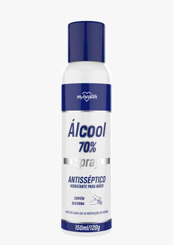 Imagem de Álcool Spray 70% Antisséptico 150ml My Health
