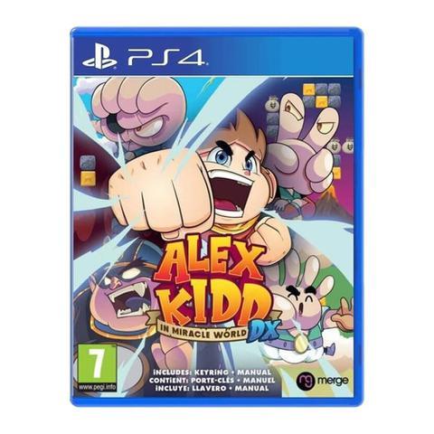 Jogo Alex Kidd In Miracle World Dx - Playstation 4 - Merge Games