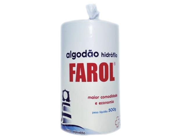 Imagem de Algodão Hidrófilo Farol 500gr
