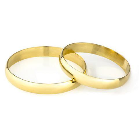 Imagem de Aliança de Casamento em Ouro 18K 2.9mm Masculina ta29